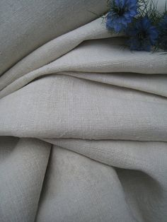antique hemp linen roll 14.20y CURTAIN handloomed fabric cushy 23.22inches wide ¥37,766