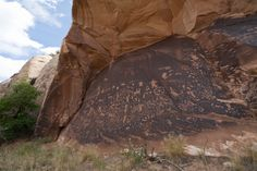 1) Newspaper Rock State Historic Monument