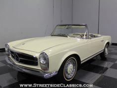 1966 mercedes 230 sl convertible