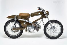 To know more about Honda Cub: Dirty Donkey, visit Sumally, a social network that gathers together all the wanted things in the world! Featuring over other Honda items too! Motos Honda, Honda Bikes, Honda Motorcycles, Vintage Motorcycles, Custom Motorcycles, Custom Bikes, Honda Cub, Japanese Motorcycle, Motorcycle Bike