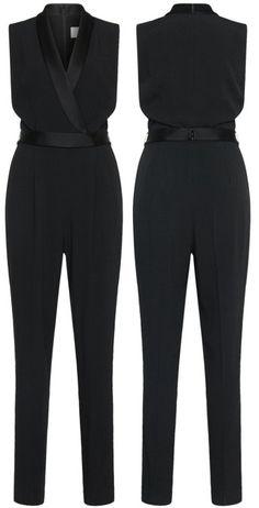 28e08bbdbc4 Tuxedo Style Jumpsuit for Women