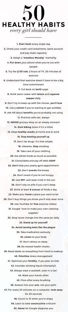 I don't know about the SHOULDs in the title, but here is some wise advice. Pick a few and give them a try. Some were new ideas to me and I'm an ol' lady.