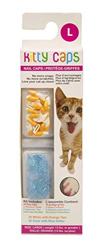 Kitty Caps Nail Caps  Assorted Colors  Large 40ct *** Find out more about the great product at the image link.