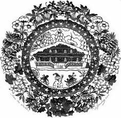 Doris Henchoz - Sous les étoiles Wood Burning Patterns, Wood Burning Art, Paper Cutting, Vintage Posters, Vintage Photos, Decoupage, Image Fun, Paper Lace, Paper Artist