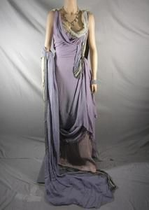 Spartacus Lucretia Lucy Lawless Screen Worn Roman Gown Jewelry Prequel EP 4 | eBay @vipfanauctions