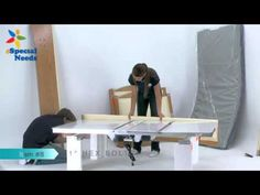 SleepSafe Plus Articulated Bed Assembly - eSpecial Needs - YouTube