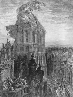 art of the beautiful-grotesque: Gustave Dore : Visions of Rabelais
