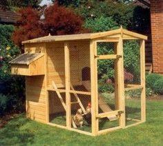 Como construir un gallinero.