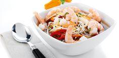 Asiatisk suppe med rejer