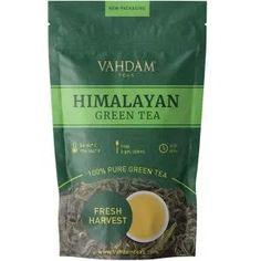 Shop VAHDAM, Green Tea Leaves from Himalayas, Cups) Pure Green Tea, Best Green Tea, Organic Green Tea, 14 Day Cleanse, 14 Day Detox Tea, Organic Loose Leaf Tea, Kombucha Tea, Green Tea Benefits, Milk Tea