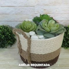 Diy Crafts For Home Decor, Diy Crafts For Gifts, Diy Wall Decor, Diy Craft Projects, Jute Crafts, Handmade Home, Diy Art, Sisal, Home Craft Ideas