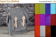 Christmas Sale Custom colors Vertical Laptop bag 13 by etoidesign