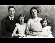 1937: A Royal family photograph shows King George VI and Queen Elizabeth (later the Queen Mother) with their daughters Princess Elizabeth (later Queen Elizabeth II) and Princess Margaret.   -  Candid photographs of Queen Elizabeth II with King George VI To mark the 65th anniversary of the death of King George VI, we take a look at the touching photographs of King George VI with his daughter, Queen Elizabeth II.