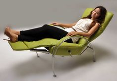 One of the classic #Lafer #recliners, Billie's #elegant arched arms give this recliner a #modern #contemporary #style