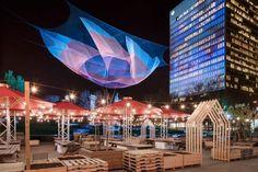 Activités gratuites à faire à Montréal en famille - Jardins Gamelin