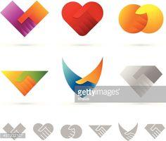 Collection of handshake design elements with shadows. Graphic Design Tips, Logo Design Inspiration, Book Design, Ci Design, Corporate Design, Brand Identity Design, Handshake Logo, Branding Jobs, Abstract Images