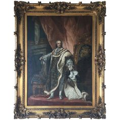 ~ Large 19th Century Oil Painting of Louis XVI ~ 1stdibs.com