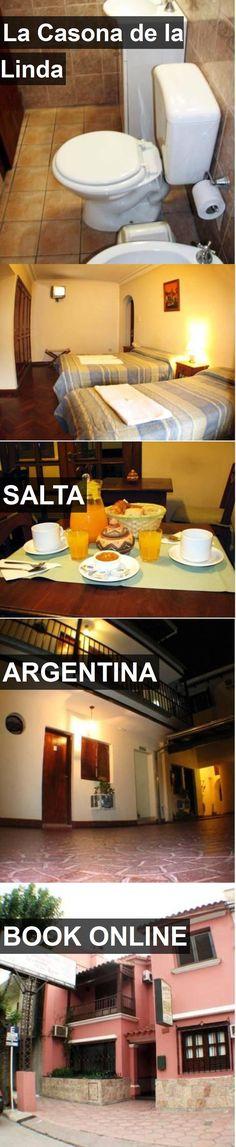 Hotel La Casona de la Linda in Salta, Argentina. For more information, photos, reviews and best prices please follow the link. #Argentina #Salta #LaCasonadelaLinda #hotel #travel #vacation
