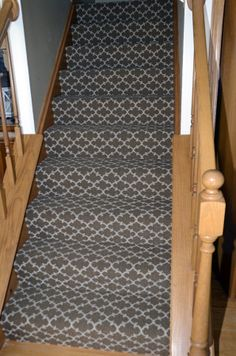 Masland Carpet Installation With Pattern Match.