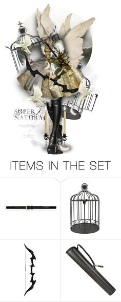 """""""Supernatural"""" by mew-muse ❤ liked on Polyvore featuring art"""