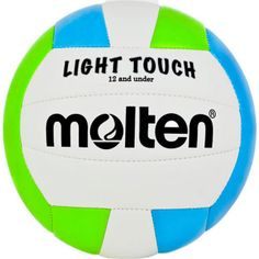 Molten MS240 Light Touch Volleyball in  Neon Green/Blue
