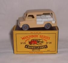29-A 	Bedford Milk Delivery Van Matchbox Cars, Train Set, Youth, Milk, Delivery, Van, Vehicles, Car, Vans
