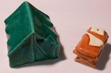 Vintage TENT COT CAMPING SCOUTS FIGURAL SALT PEPPER S SHAKERS Arcadia Go With