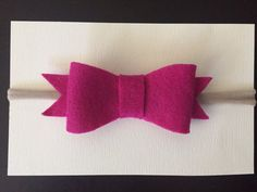 Camry pink bow large pink bow baby bow mommy bow by ItsyBitsyCo