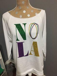 Mardi Gras shirt  NOLA