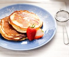 Recept: Ricottapannenkoeken met aardbei | Gezond Eten Magazine