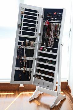 MaxxDepo  Jade JewelBox Aynalı Takı Dolabı : 999,90 TL | evmanya.com