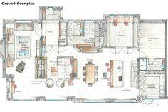 Interior Architectural Design Portfolio Ford Interior, Office Interior Design, Exterior Design, Architecture Building Design, Interior Architecture, Architect House, Amazing Spaces, Portfolio Design, How To Plan