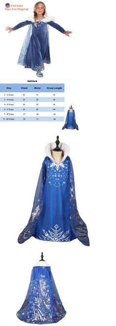 Girls' Clothing (sizes 4 & Up) Beautiful Cinderella Disney Inspired Dress Princess Costume Free Ship Child Toddler K19