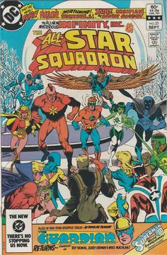 AllStar Squadron Vol. 3 No. 25  1983  First by TheSamAntics