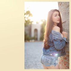 Thai Model, Swimsuits, Bikinis, Bikini Models, Shoulder Dress, Dresses, Women, Fashion, Vestidos