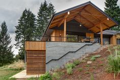 Pumpkin Ridge Passive House consumes 90% less heating energy than a conventional house