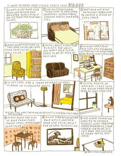 Design Cheat Sheets: Handy Infographics for house decorating etc from around the web - Click link to see all.