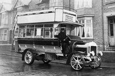 1914 Double Decker Maudslay bus