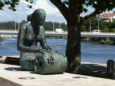 "Vila do Conde - Portugal ""Statue honors the craft"""