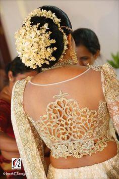 flower designer blouse