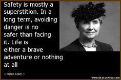 Helen Keller Quotes at StatusMind.com