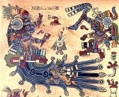 Chalchiuhtlicue y Tlaloc los dioses mexica del agua, pareja y dualidad. Ella del agua terrestre y él de la que viene del cielo.