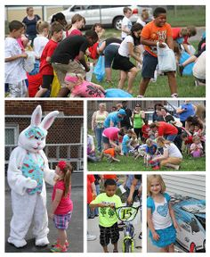 7,000 eggs and more than 1,500 pounds of candy made the 2014 edition of the Twigs Bunny Lunch and Egg Hunt a success!