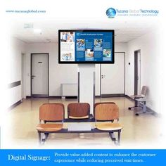 #DigitalSignage Provide value-added #content to #enhance the #customer #experience while #reducing perceived wait times. #TucanaGlobalTechnology #Manufacturer #HongKong
