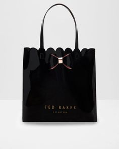Discover bags for women at Ted Baker. From large leather handbags to compact clutch bags, you're sure to get carried away by this stylish selection. Ted Baker Accessories, Women's Accessories, Clutch Bag, Tote Bag, Cute Handbags, Leather Handbags, Purses, Black Bags, La Mode