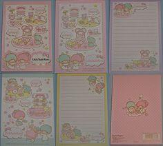 【2011】 'Shop' Memopad ★Little Twin Stars★