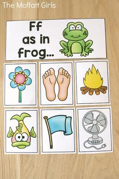 Beginning Sounds are a great place to start when introducing phonemic awareness to your students. Teaching phonemic awareness sets a strong foundation for phonics and reading skills for beginning and struggling readers.