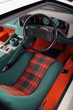 Lotus Esprit S1 Interior