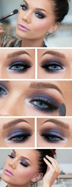 The secret to perfect smoky eye make-up - smoky eyes apply lipstick pink color Best Picture For Makeup sencillo For Your Taste You are look - Peach Lipstick, Natural Lipstick, Pink Lipsticks, Natural Makeup, Pink Eye Makeup, Smokey Eye Makeup, Lip Makeup, Smokey Eyes, Prom Makeup