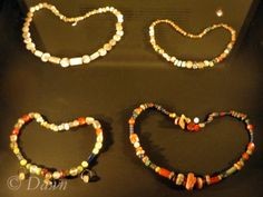 """""""Viking Age traders prized beautiful beads, which could be sold in Scandinavia for very high prices. Ibn Fadlan, and Arabic envoy who encountered Norsemen on the Volga, early in the 10th century, wrote that they would pay as much as one dirhem (an Arabic silver coin) for one single bead. These beads were most likely made of carnelian or rock crystal, semi-precious stones which are mainly found in the Caucasus and the area around the Black Sea."""""""